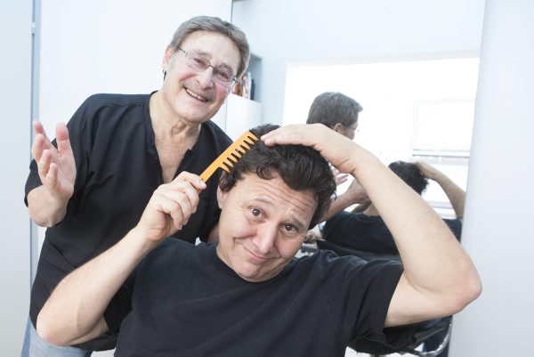 כותב הטור מודק אופציות לשיער חלופי