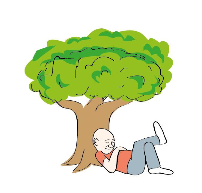 תחת עץ האקליפטוס ליד הירדן - אני יושבב לי וישן - טליק