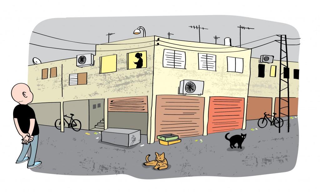 דירה להשכיר - איור טליק לזר